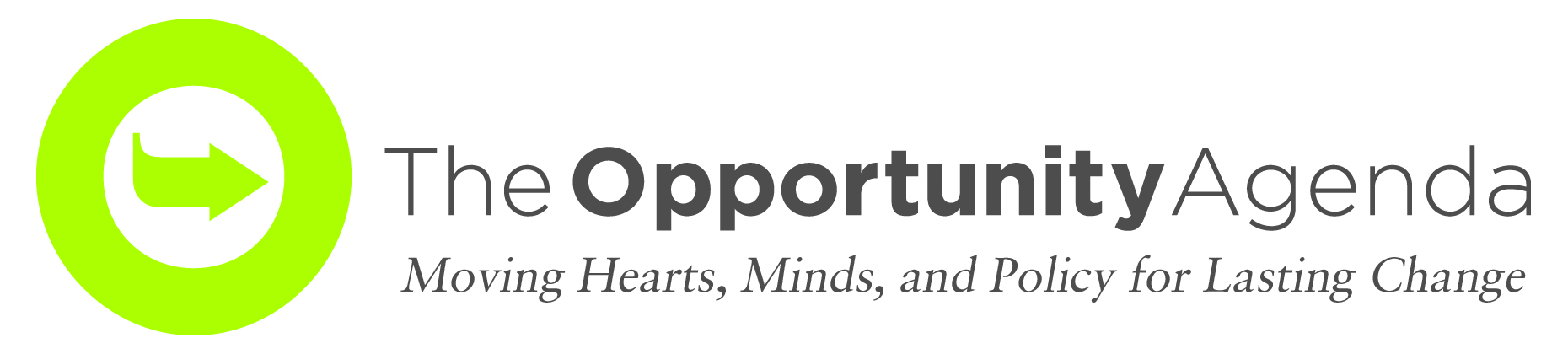 The opportunity agenda